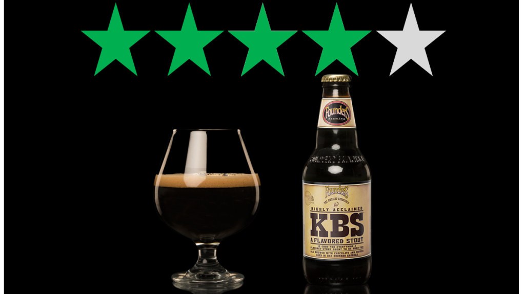 Founder's KBS is shown under a graphic of 4 Green Stars that represents an ethical rating. 4/5 Green Stars for social and environmental impact.