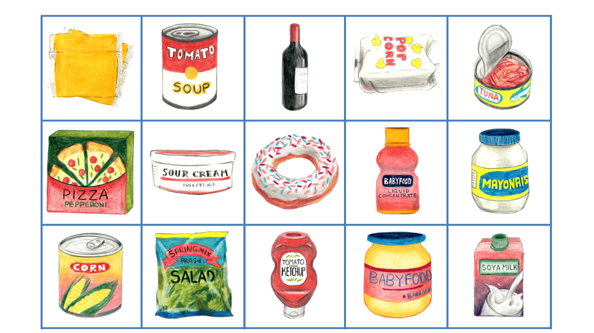 An image of various kinds of processed food, derived from a Guardian article, titled, Revealed: the true extent of America's food monopolies, and who pays the price.